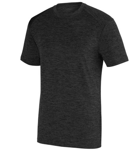 Augusta Black-Heather Performance Tee