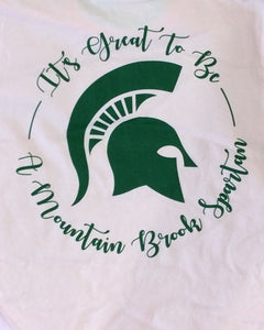 Spartan Pride T-shirt Great To Be