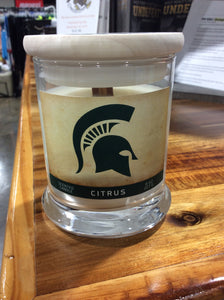 #Spartan 8oz Large Scented Candle--Citrus
