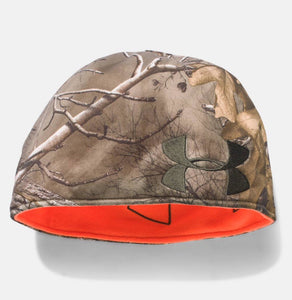 UA Reversible Fleece Beanie Camo
