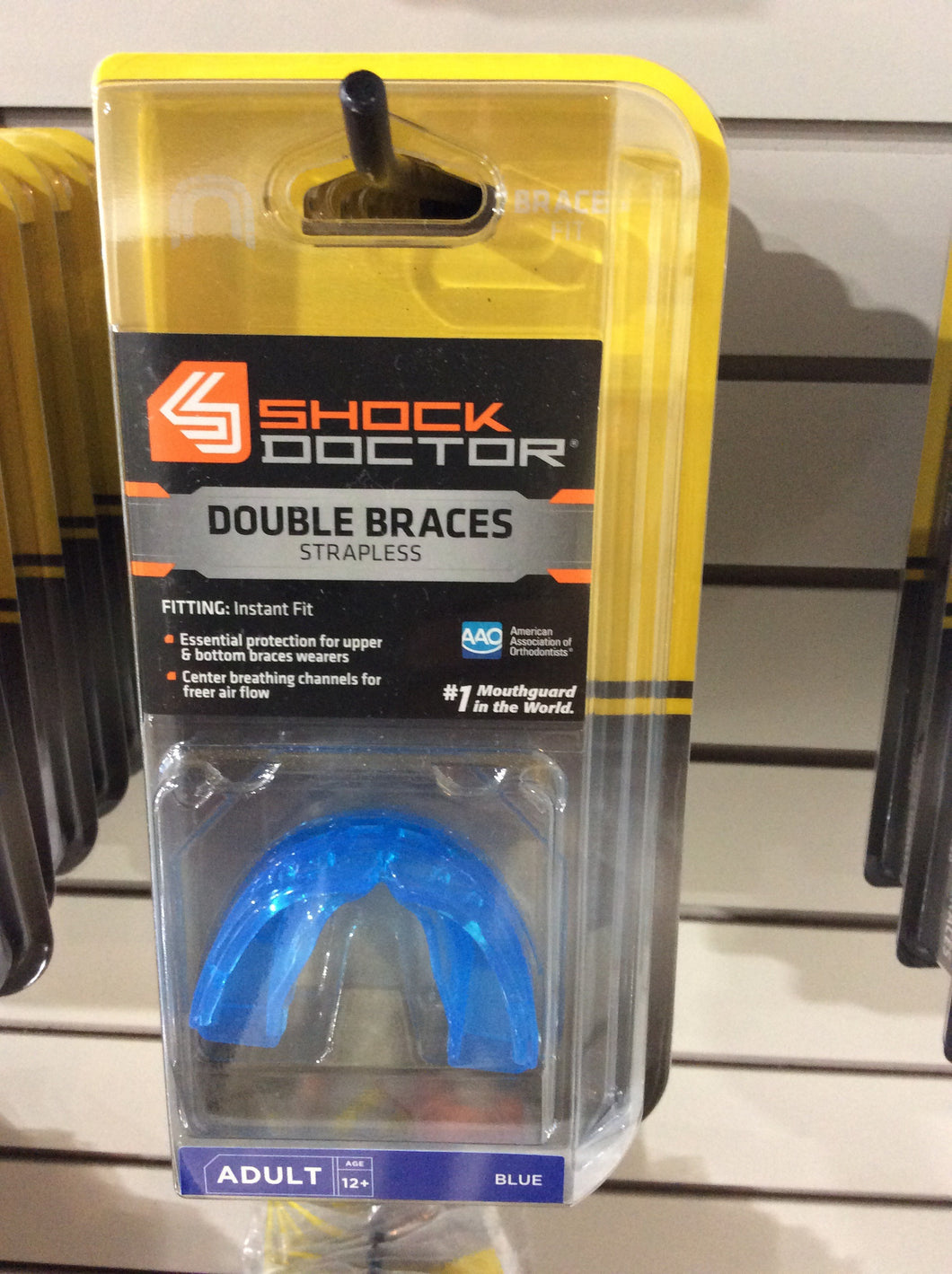 Double Braces Strapless mouthguard