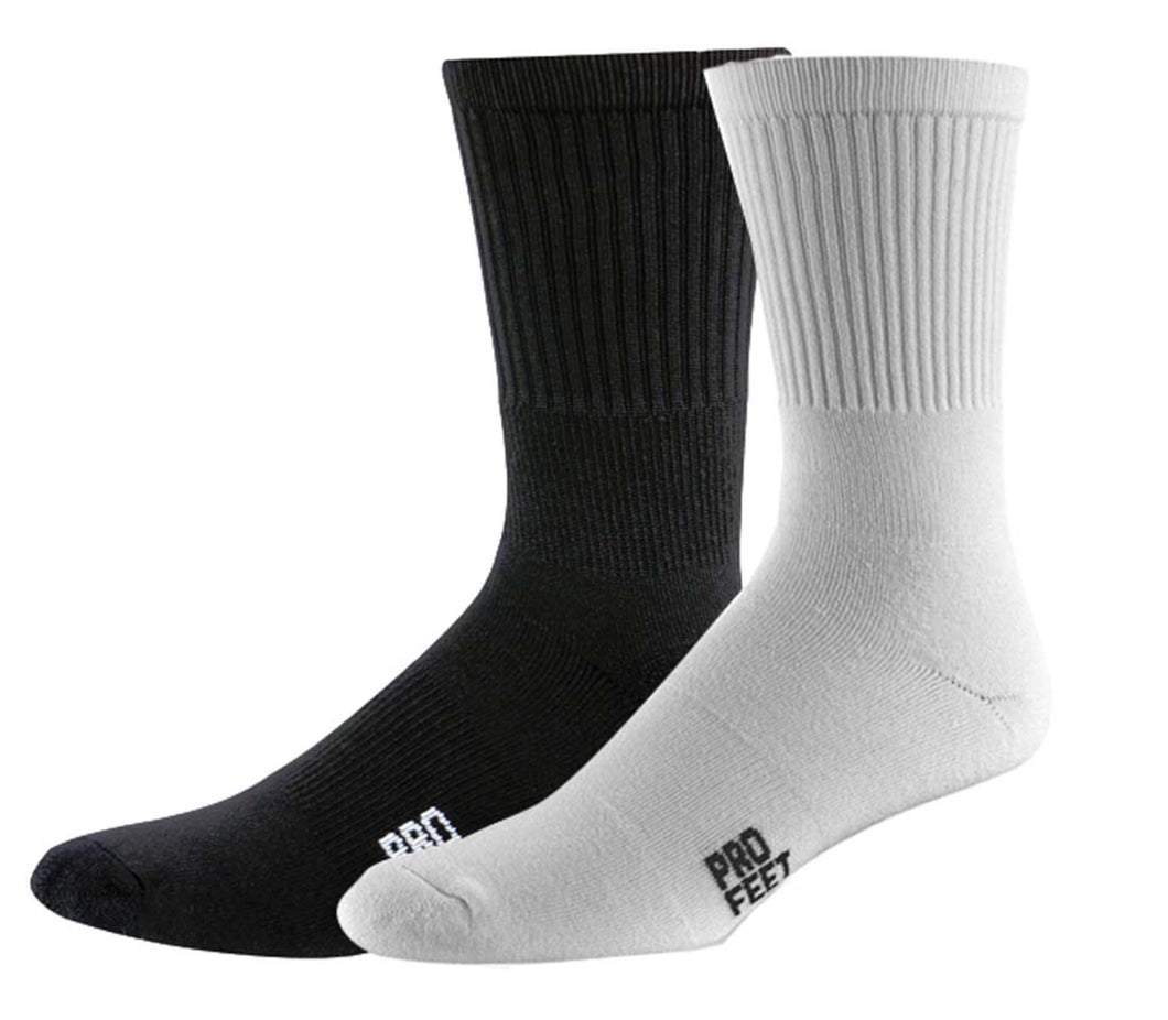 Pro Feet Cotton Crew 3-Pack Socks