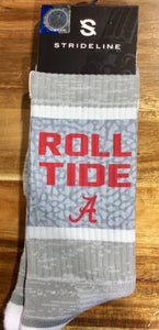 Strideline Crew Sock- Alabama