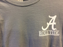 University of Alabama Long Sleeve Comfort Colors Shirt - Gray with Barn