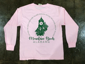 Spartan Pride Youth L/S Tshirt-Village
