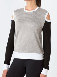MPG Shimmy Slouchy Long Sleeve