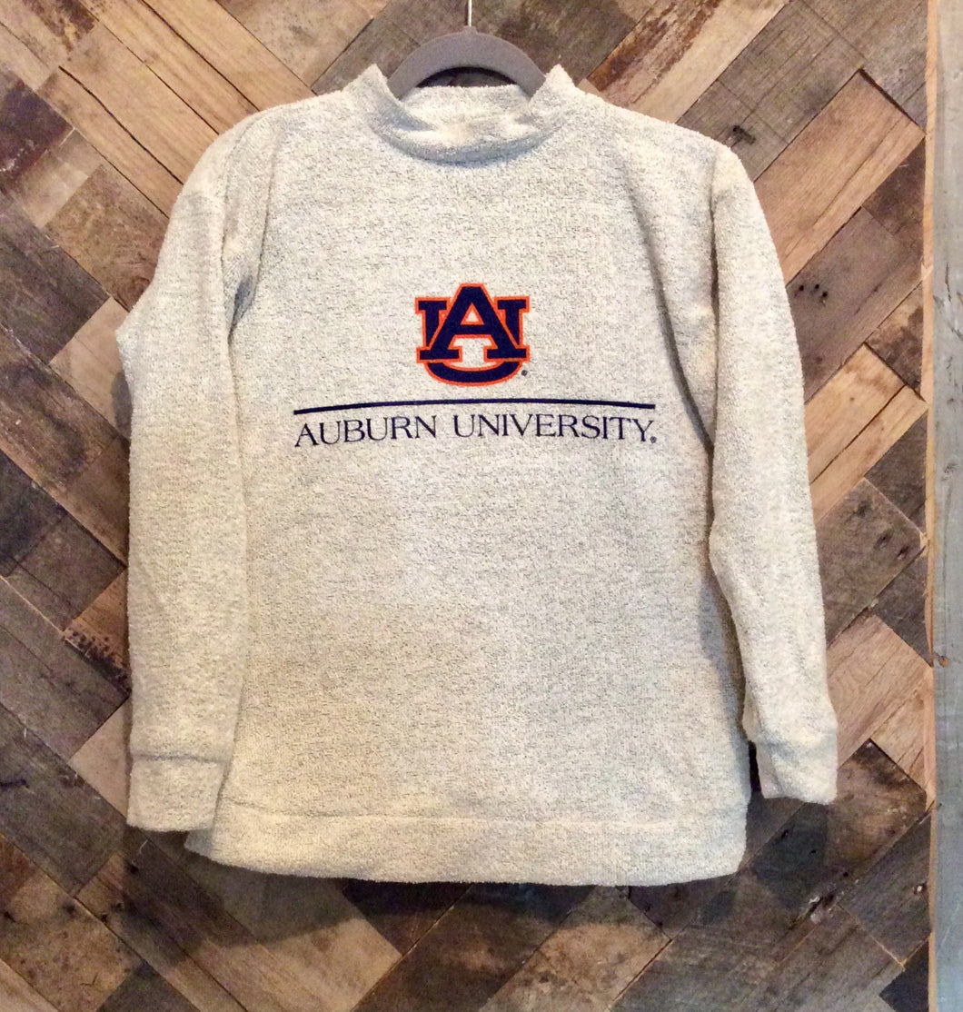 Woolly Threads Pullover - Auburn University - Natural