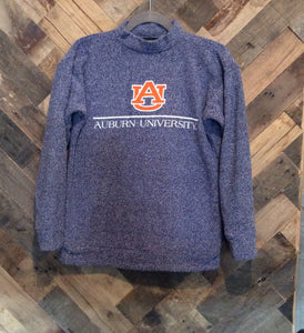 Woolly Threads Pullover - Auburn University - Navy