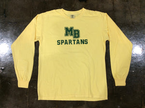 Spartan Pride Butter Comfort Colors Long Sleeve
