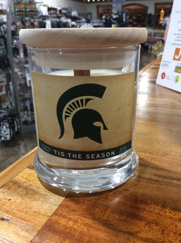 #Spartan 8oz Large Scented Candle--Tis The Season