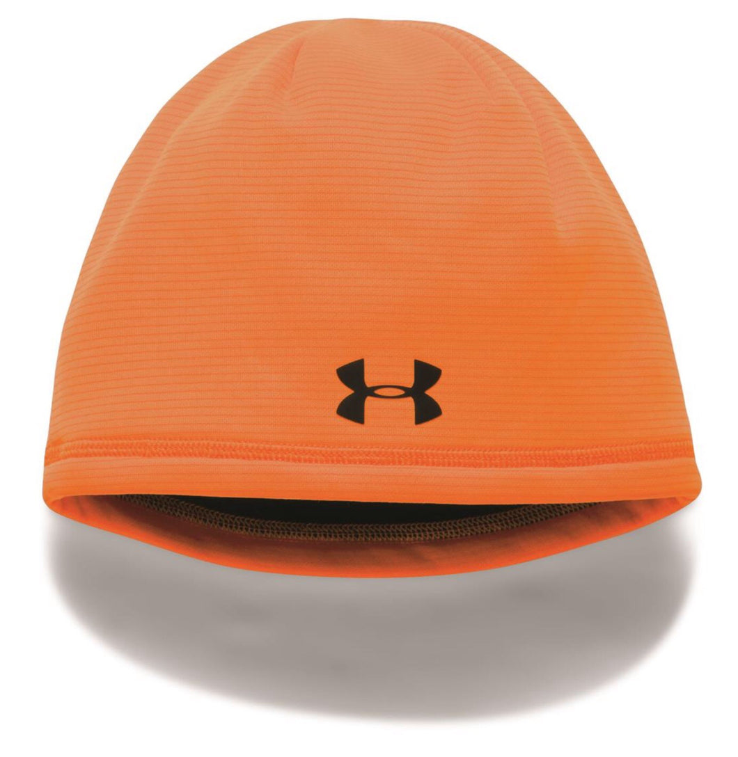 UA Scent Control Storm Fleece Beanie Orange