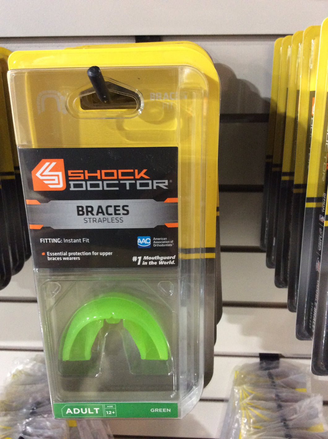 Braces Strapless mouthguard
