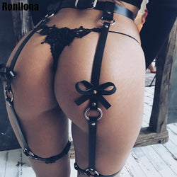 Leather Garter Harness