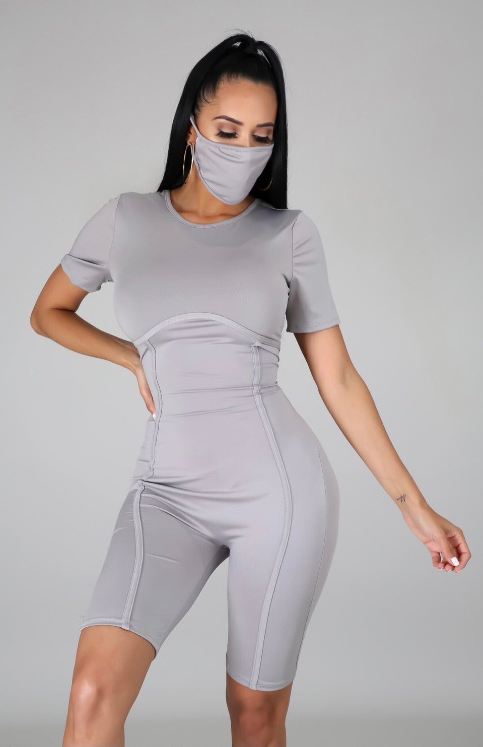 Romper and Mask Set