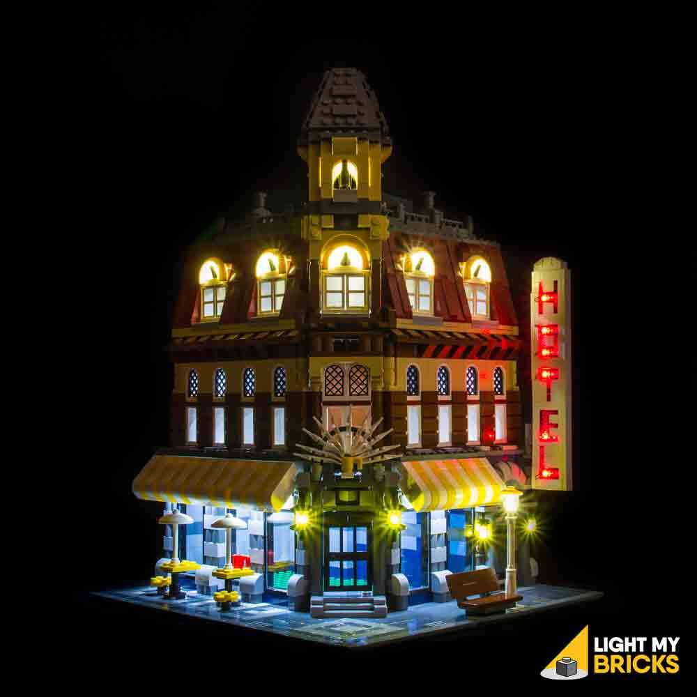 CAFE CORNER LIGHTING KIT 10182 (LEGO SET NOT INCLUDED) BY LIGHT MY BRICKS