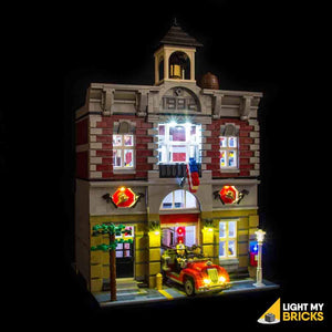 FIRE BRIGADE LIGHTING KIT 10197 (LEGO SET NOT INCLUDED) BY LIGHT MY BRICKS
