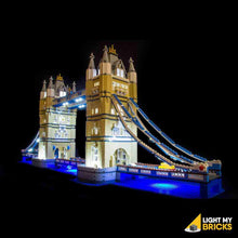 TOWER BRIDGE 10214 LIGHTING KIT (LEGO SET NOT INCLUDED) BY LIGHT MY BRICKS