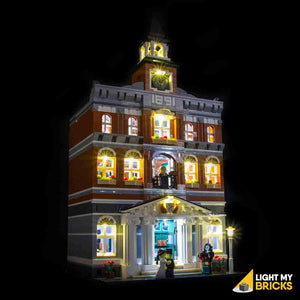 TOWN HALL 10224 LIGHTING KIT (LEGO SET NOT INCLUDED) BY LIGHT MY BRICKS