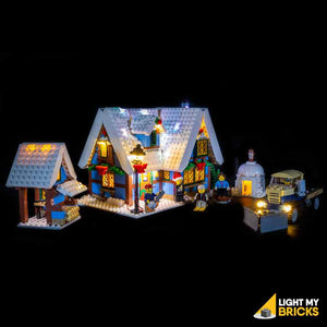 Lighting Kit for Winter Village Cottage 10229 (BUILDING SET NOT INCLUDED)  by Light my Bricks
