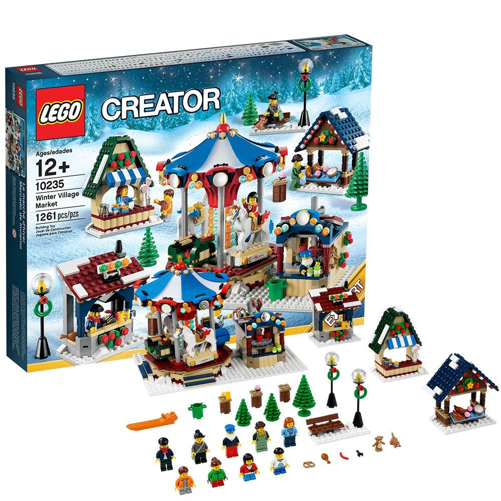 LEGO Creator Expert 10235 Winter Village Market (Discontinued by manufacturer)