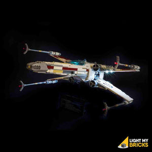 STAR WARS UCS RED FIVE X-WING STARFIGHTER LIGHTING KIT 10240 (LEGO SET NOT INCLUDED) BY LIGHT MY BRICKS