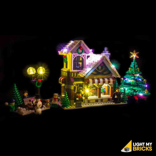 WINTER TOY SHOP 10249 LIGHTING KIT (LEGO SET NOT INCLUDED) BY LIGHT MY BRICKS
