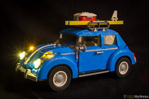 VOLKSWAGEN BEETLE 10252 LIGHTING KIT (CAR NOT INCLUDED) BY LIGHT MY BRICKS