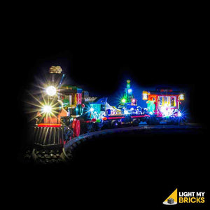 WINTER HOLIDAY TRAIN LIGHTING KIT 10254 (LEGO SET NOT INCLUDED) BY LIGHT MY BRICKS