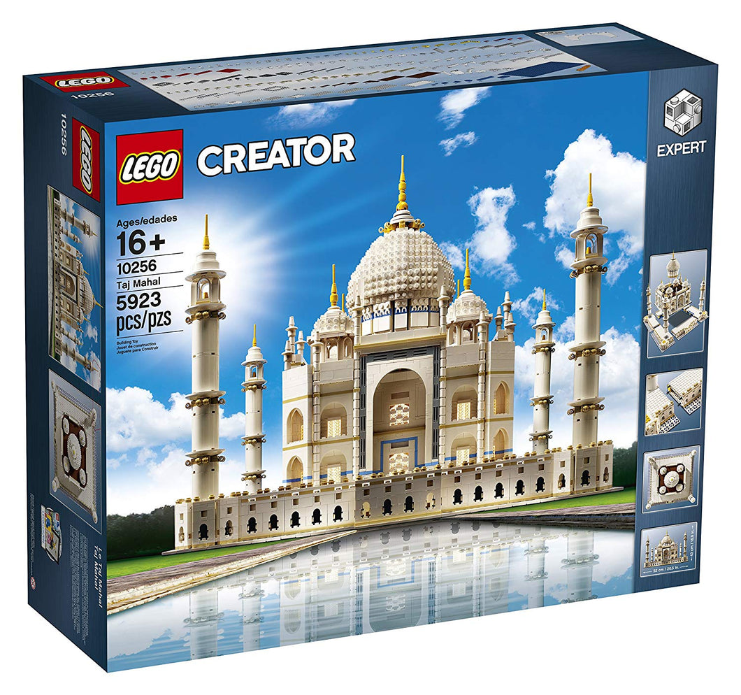 LEGO Creator Expert Taj Mahal 10256 Building Kit and Architecture Model (5923 Piece)