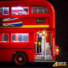 LONDON BUS LIGHTING KIT 10258 (LEGO SET NOT INCLUDED) BY LIGHT MY BRICKS