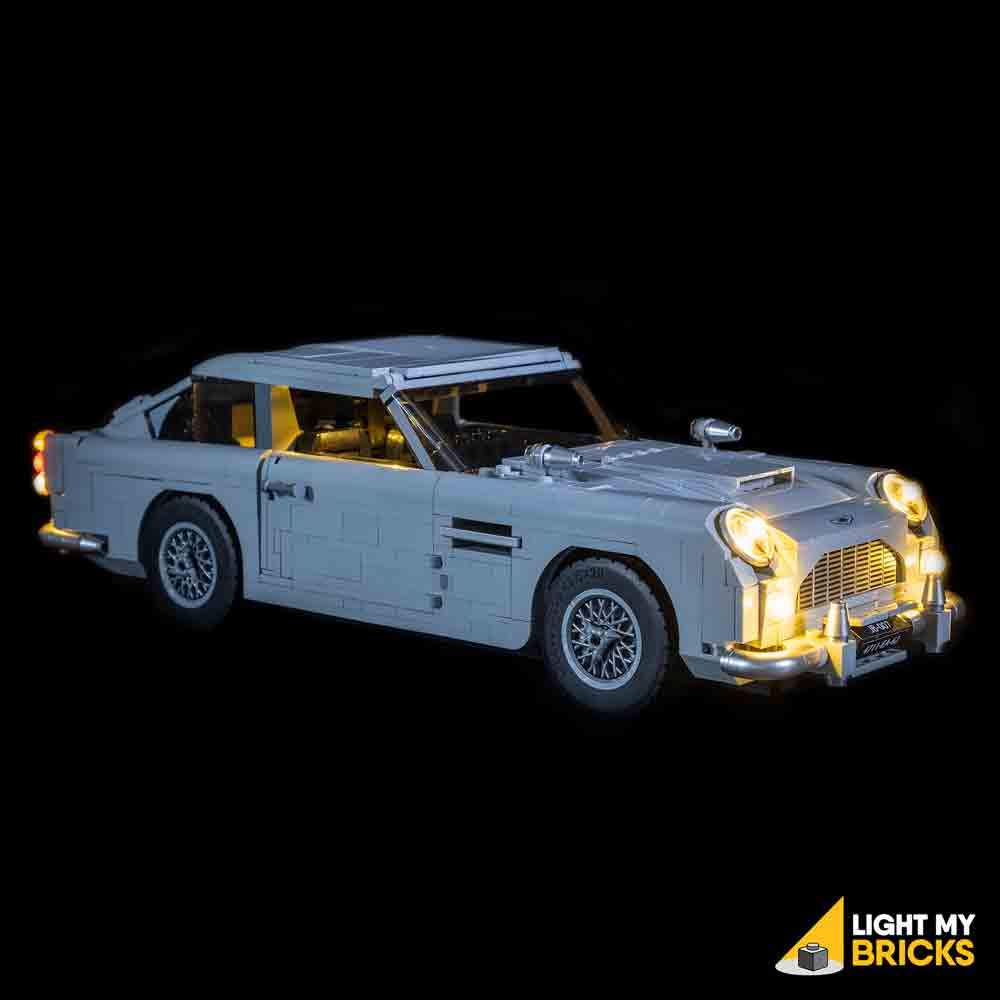 LIGHTING KIT FOR ASTON MARTIN DB5 10262 (BUILDING SET NOT INCLUDED) BY LIGHT MY BRICKS