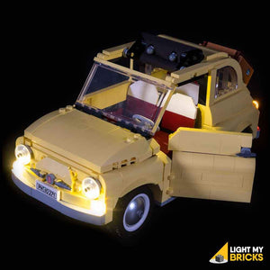 LIGHTING KIT FOR FIAT 500 10271 (BUILDING SET NOT INCLUDED) BY LIGHT MY BRICKS