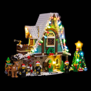 Lighting Kit for Elf Club House 10275 (Building Set Not Included) by Light My Bricks