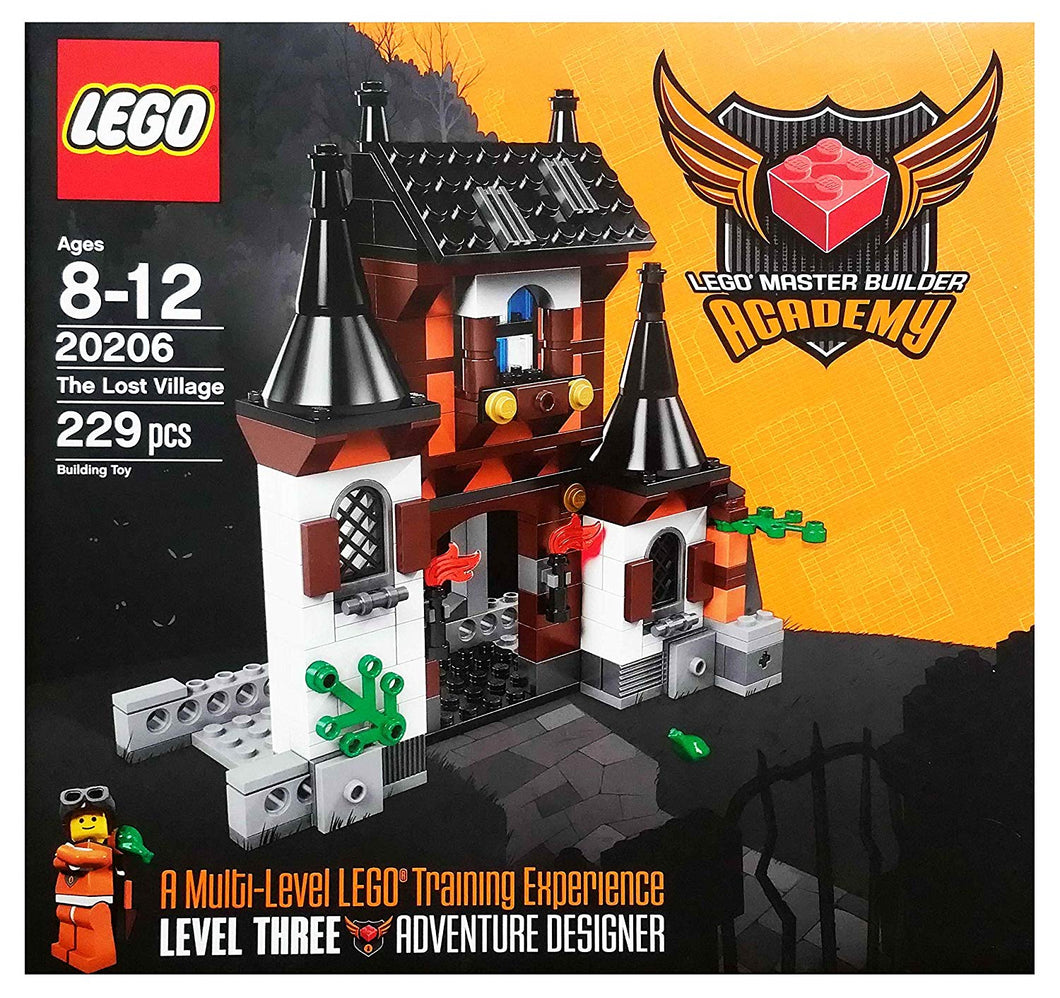 LEGO 20206 Master Builder Academy The Lost Village Set 7 New Free US Ship RET