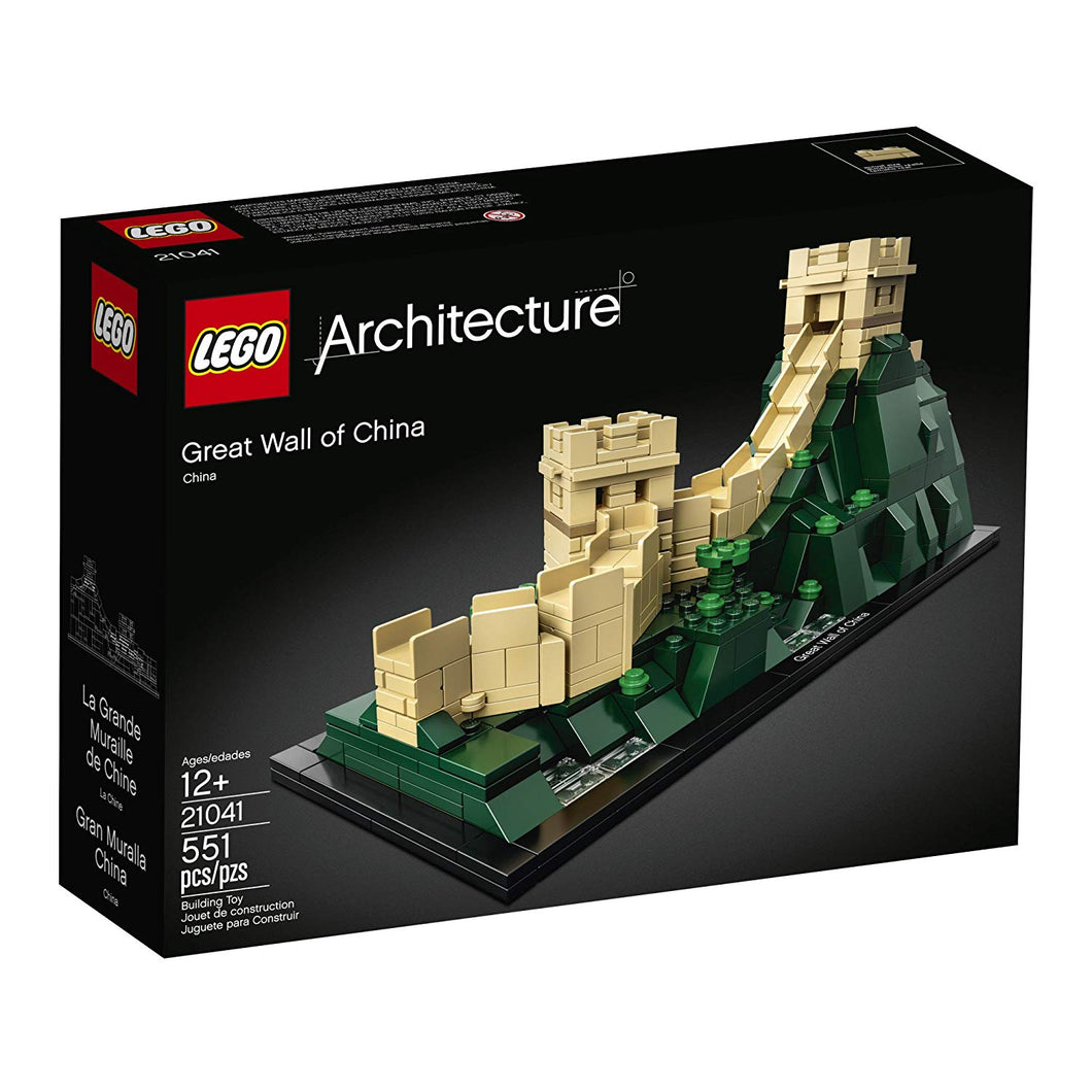 LEGO Architecture Great Wall of China 21041 Building Kit (551 Piece)