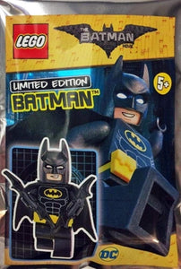LEGO BATMAN LIMITED EDITION FOIL POLYBAG MINIFIGURE BATMAN 211701 BUILDING TOY