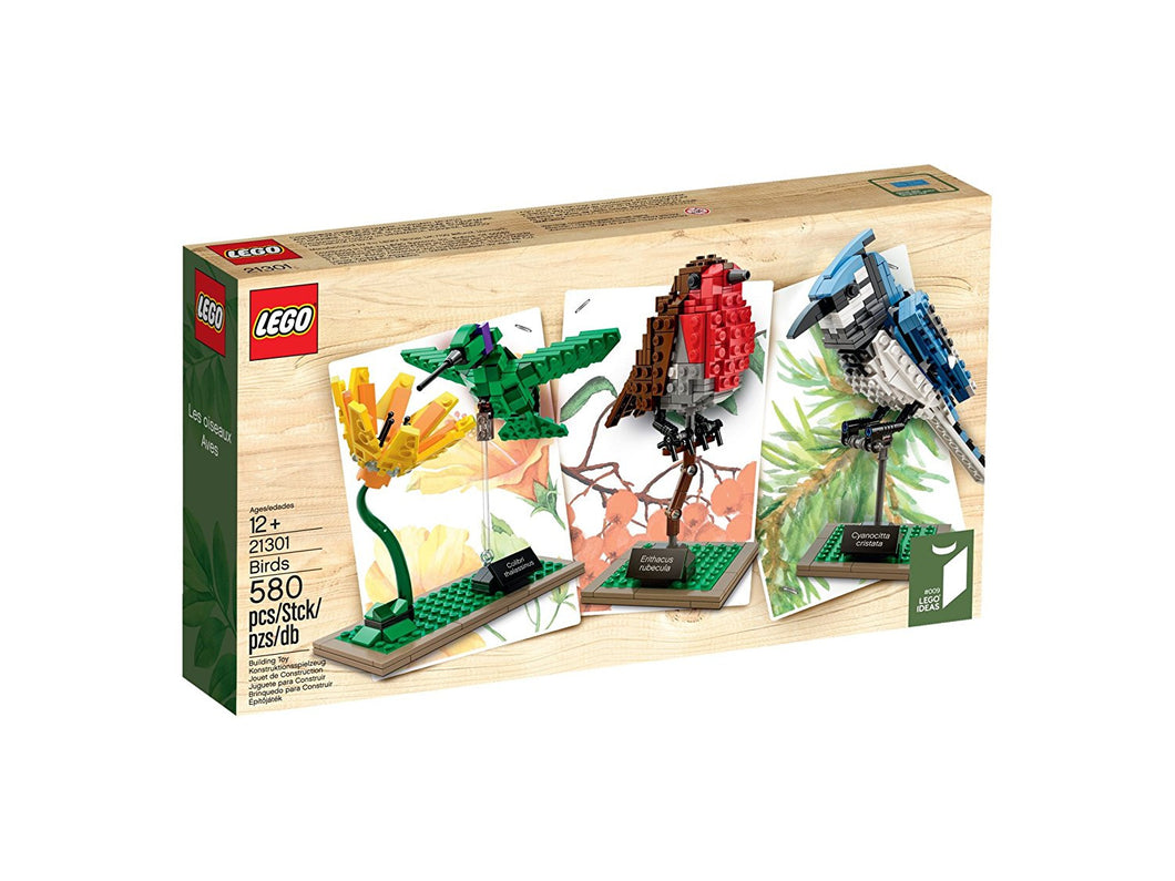 LEGO Ideas 21301 Birds Model Kit(Discontinued by manufacturer)