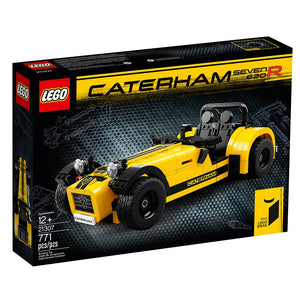 LEGO Ideas Caterham Seven 620R (21307) - Building Toy and Popular Gift for Fans of LEGO Sets and Car Collectors (771 Pieces)