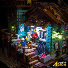 Old-Fishing Store 21310 Lighting Kit (LEGO Set not included) by Light my Bricks