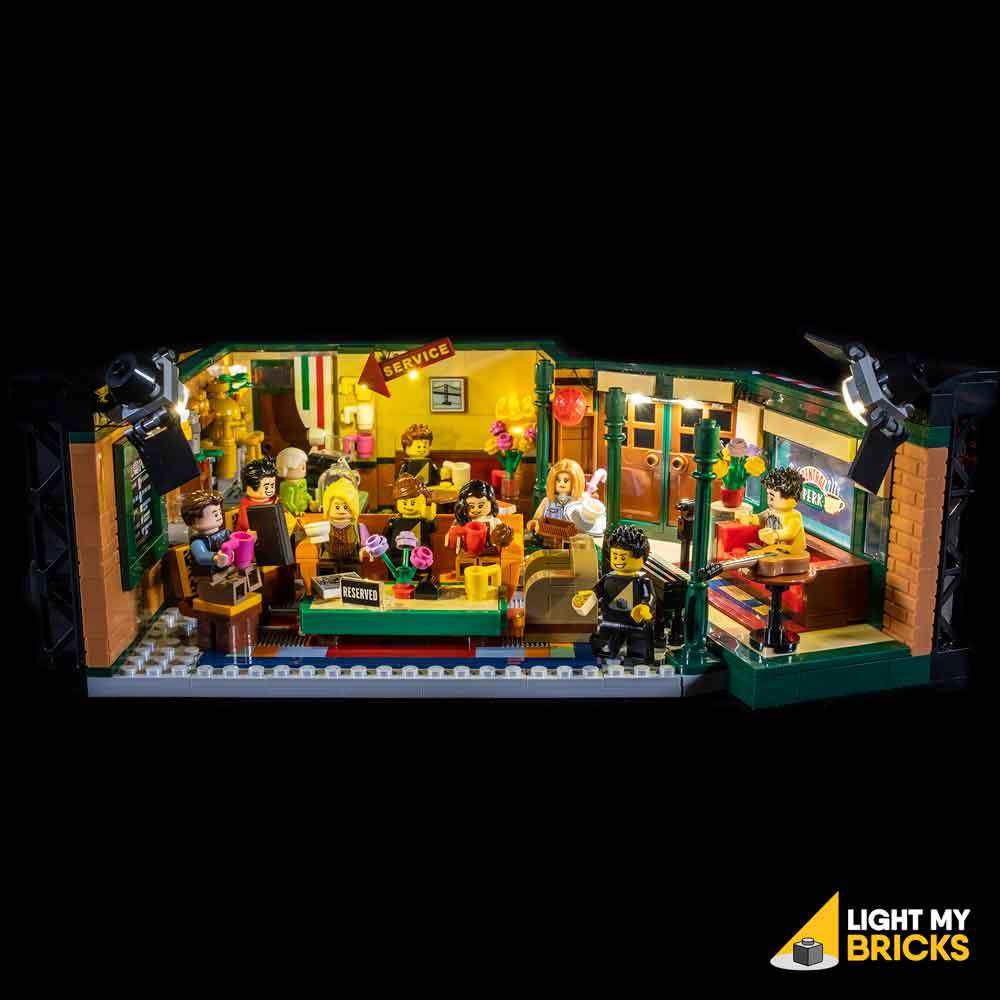 LIGHTING KIT FOR FRIENDS CENTRAL PERK 21319 (BUILDING SET NOT INCLUDED) BY LIGHT MY BRICKS