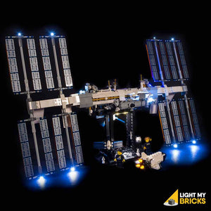 LIGHTING KIT FOR INTERNATIONAL SPACE STATION 21321 (BUILDING SET NOT INCLUDED) BY LIGHT MY BRICKS