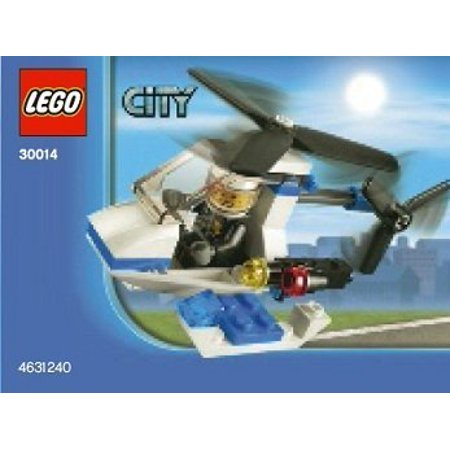 Lego, City Police Helicopter Bagged (30014)