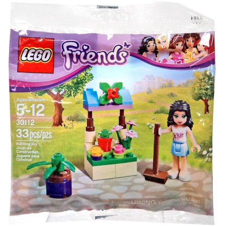 Friends Emma's Flower Stand Mini Set LEGO 30112 [Bagged]