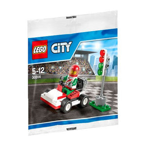LEGO City Go-Kart Racer Mini Set #30314 [Bagged]