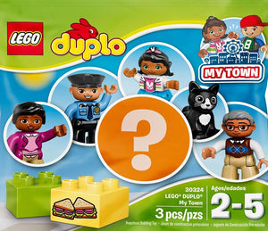 LEGO DUPLO POLYBAG MY TOWN PEOPLE PACK KIDS CHILDS BUILDING TOY 30324 - RANDOM