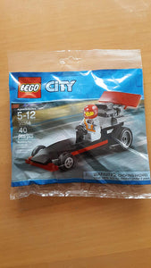 LEGO 30358 CITY MINI Dragster Polybag set 40pcs
