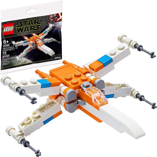 Disney Lego Star Wars Poe Damerons X-Wing Fighter 30386