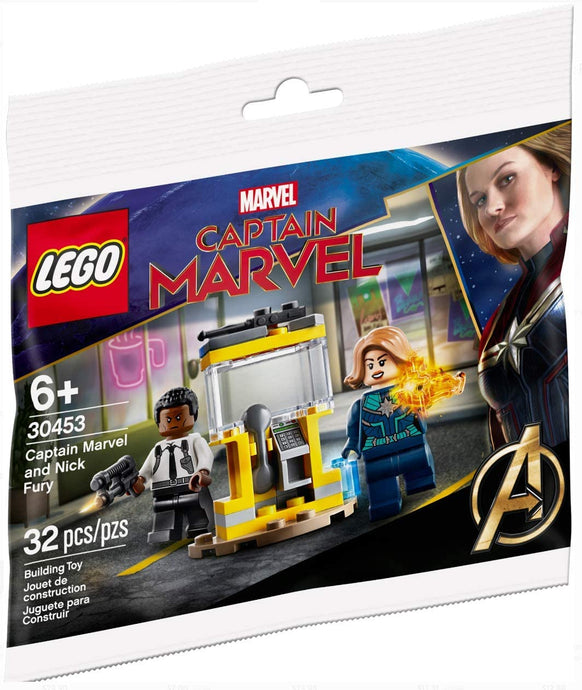 Lego Set #30453 Captain Marvel and Nick Fury 2020 Limited Edition Polybag
