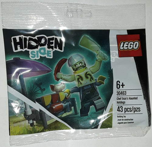Lego 30463 Chef Enzo's Haunted Hotdogs Hidden Side new 2020 polybag 43 pieces