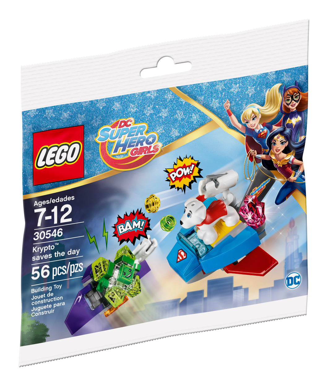 LEGO DC Super Hero Girls Krypto Saves the Day 30546